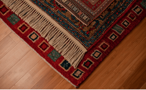 Keeping Rug Fringe Clean