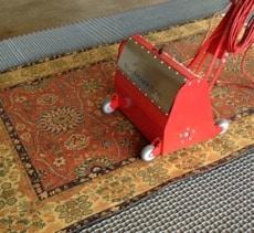 Oriental Rug Vacuuming vs Dusting
